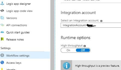 linking integration Account