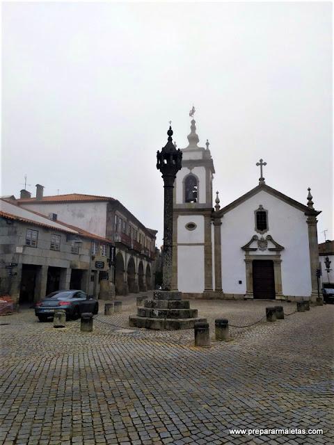 visitar El Pelourinho en Trancoso Portugal