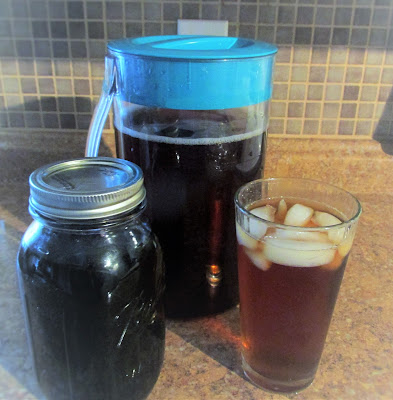 Recipe for Iced tea Syrup ...Vickie's Kitchen and Garden