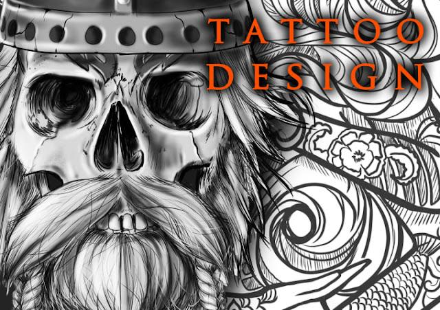 Super artistic tattoo design in any style - #tattoodesign - trident tattoo poseidon