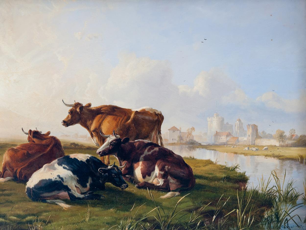 Victorian British Painting Thomas Sidney Cooper