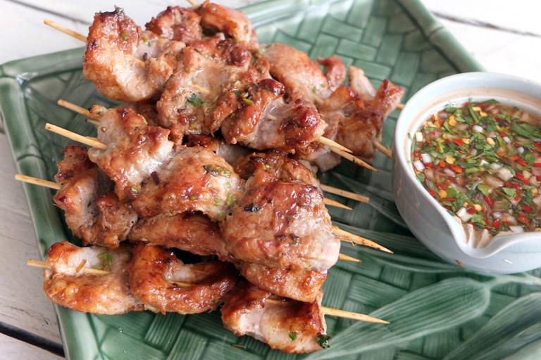 Kuliner Thailand, Moo ping