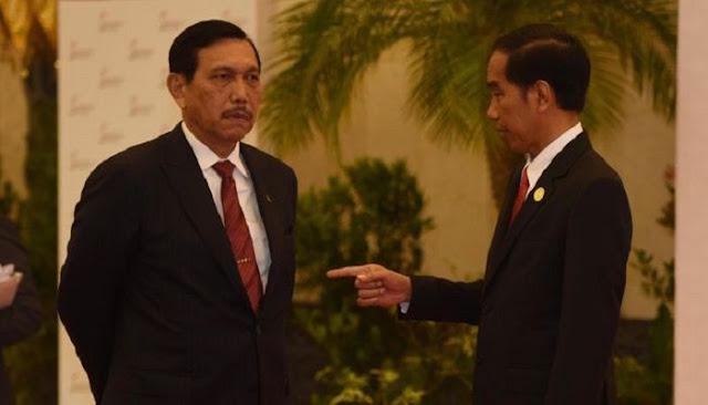 Kecewa PPKM Tak Efektif, Jokowi Disindir Tunjuk Luhut Tangani Covid, Bukan Ahli Pandemi