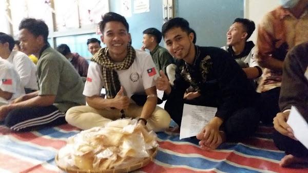 明道大學校園濃濃異國風 國際生慶祝教聖紀節