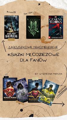 Książki podobne do filmów Marvela