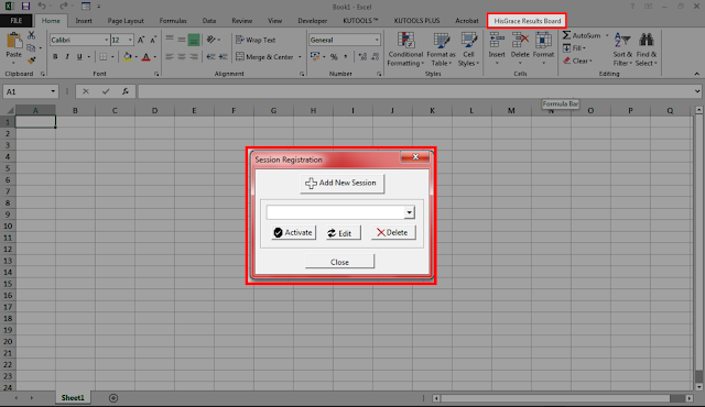 How to use Microsoft Excel to Generate Student Result (Report Card) via HisGrace Results Generator