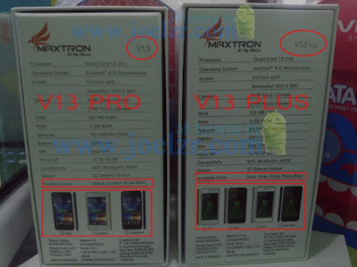 Maxtron V13 Pro bootlop
