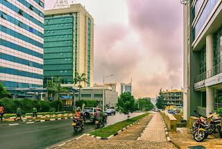 Foto da cidade de Kigali, Ruanda