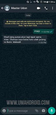 Tutorial Auto Reply WhatsApp Personal