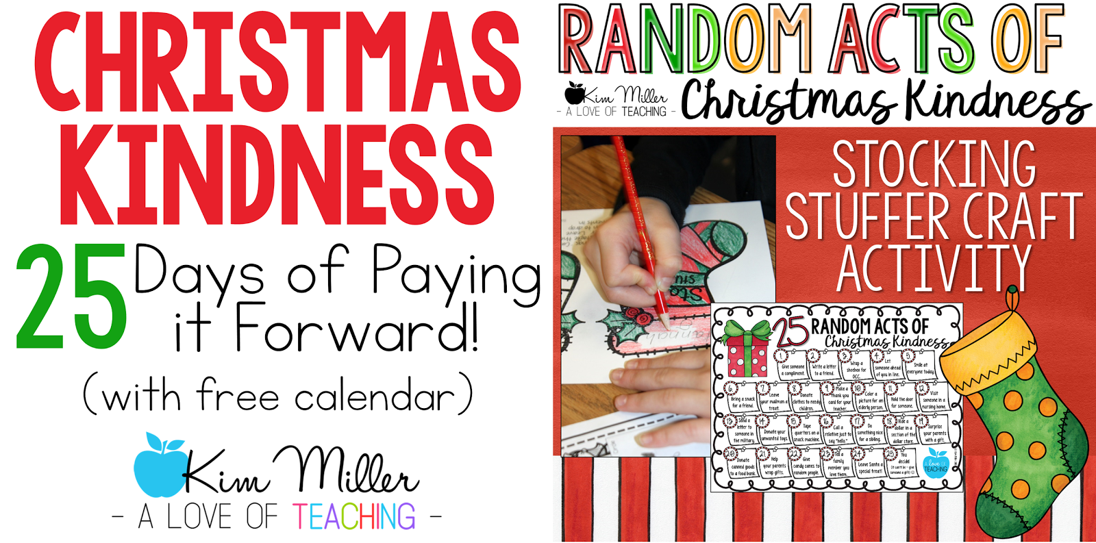 Christmas Kindness: 25 Days of Paying it Forward