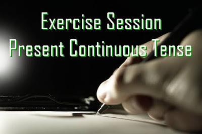 Contoh Soal Present Continuous Tense Paling Efektif