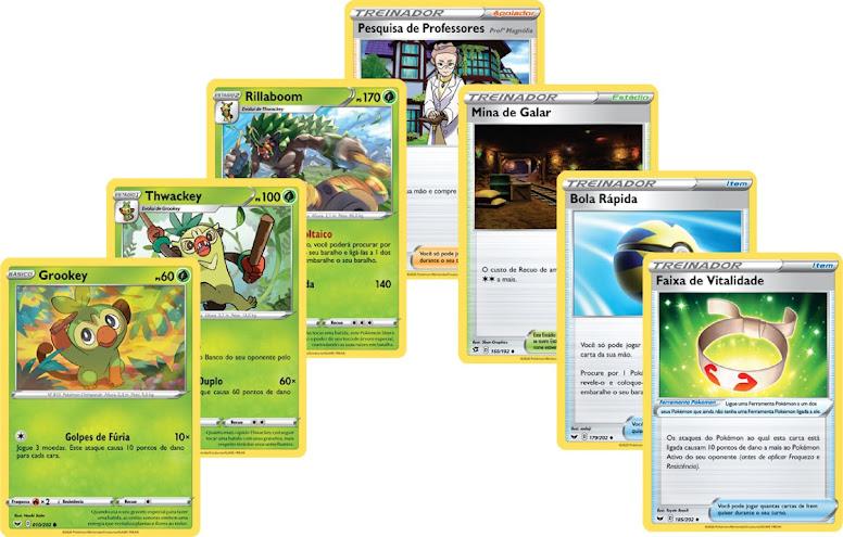 Pokémon TCG Cartas