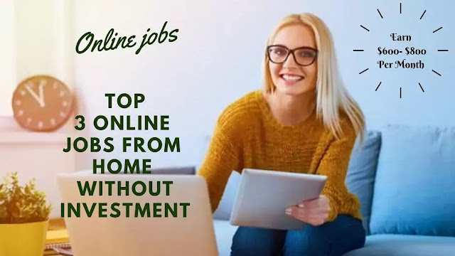 Online Earning from Home Without Investment