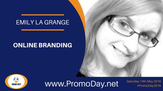 Emily la Grange to Present Online Branding Webinar at #PromoDay2016