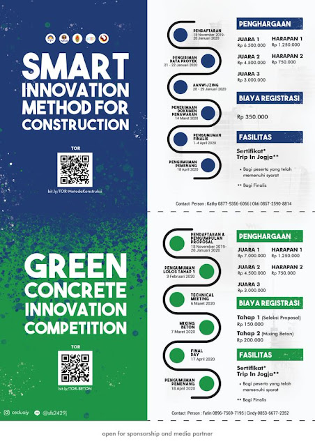 GREEN CONCRETE INNOVATION and SMART INNOVATION METHOD for CONSTRUCTION 2019