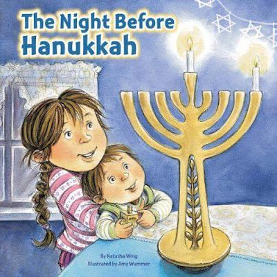 A compilation of ten children's books about Hanukkah. Eric Kimmel, David Adler, Suzanne Wolf, Deborah Heiligman, Linda Glaser, Natasha Wing and more.