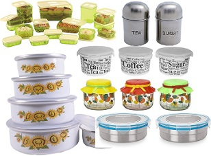 Kitchen Containers – Minimum 40% Discount (Many options available)
