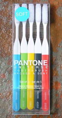 pantone toothbrushes