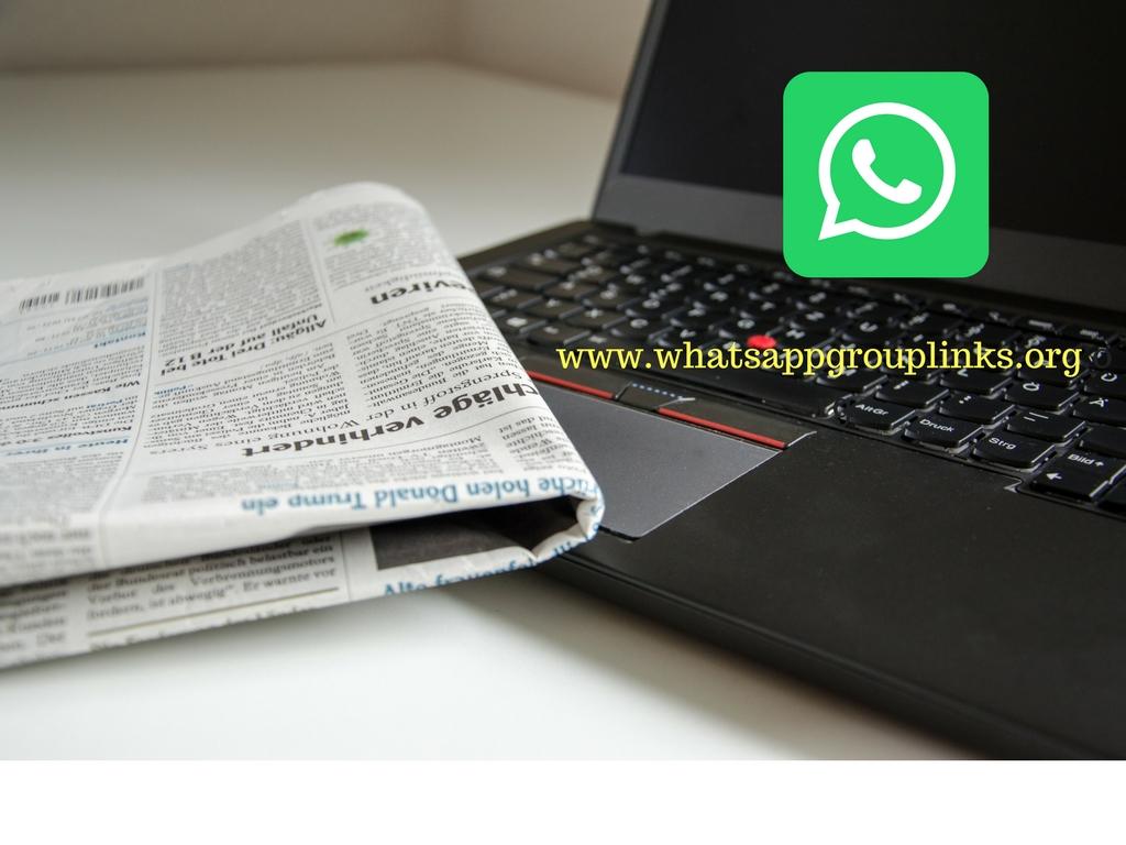 JOIN NEWS WHATSAPP GROUP LINKS LIST - Whatsapp Group Links