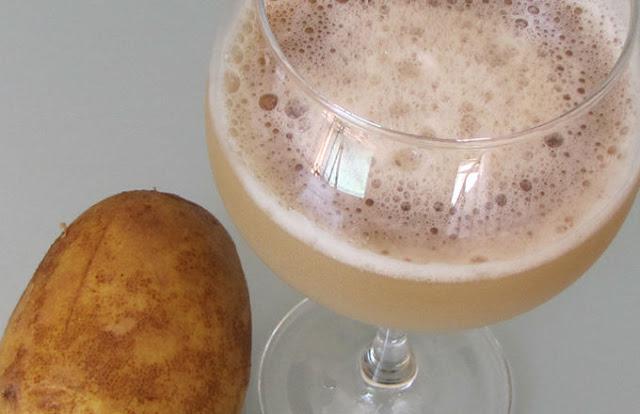 10 Avantages étonnants du jus de la pomme de terre