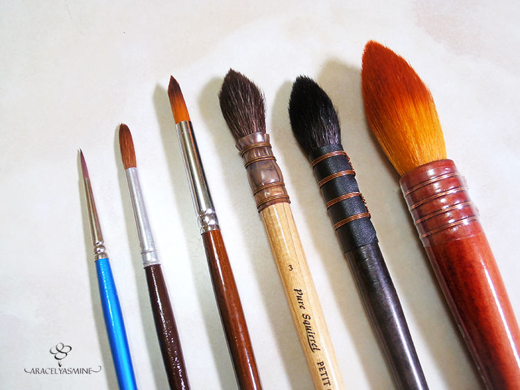 materiales basicos para iniciar a pintar con acuarelas