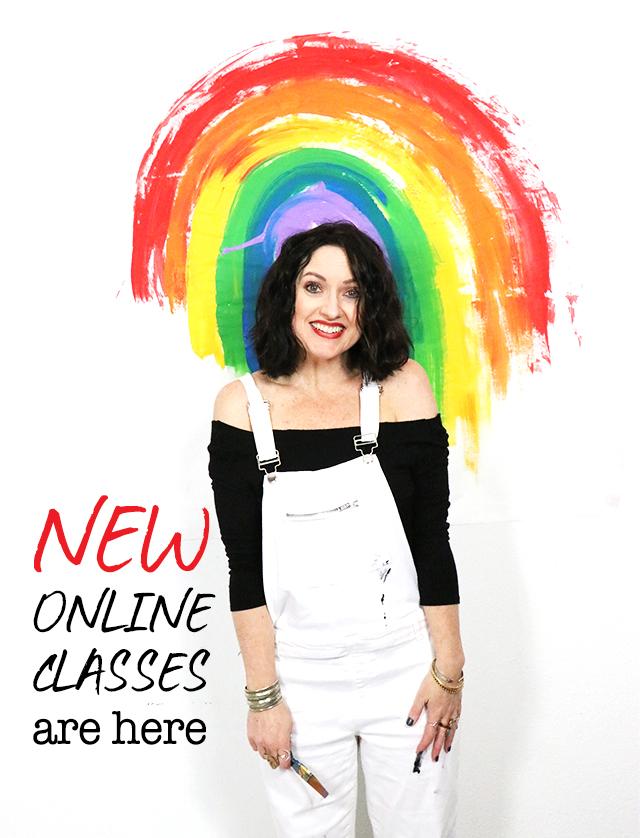 NEW! 2020 winter/spring online class lineup!