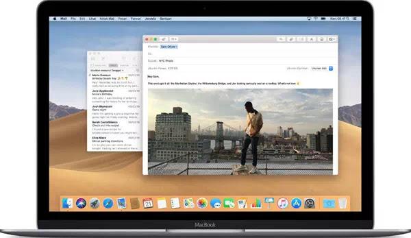 Menambahkan dan Menghapus Akun Email di Mac
