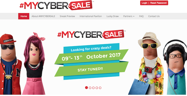 Official website for Mycybersale