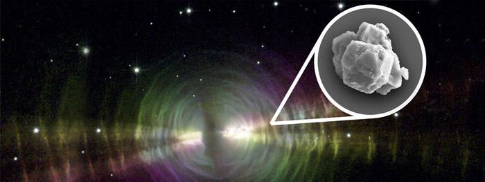 meteorito de murchison contem poeira de estrelas de 7 bilhões de anos