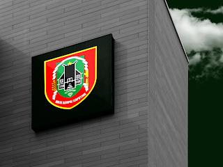 desain papan nama logo provinsi kalimantan selatan - kanalmu