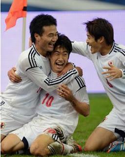 サッカー日本代表親善試合