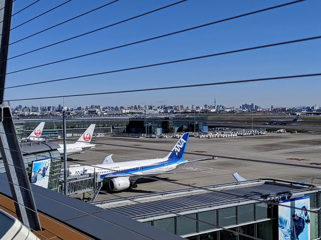 Japan for a week: fly into Haneda Airport in Tokyo