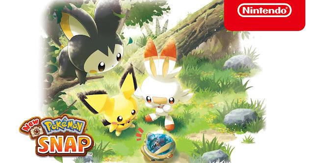 New Pokémon Snap Atualização