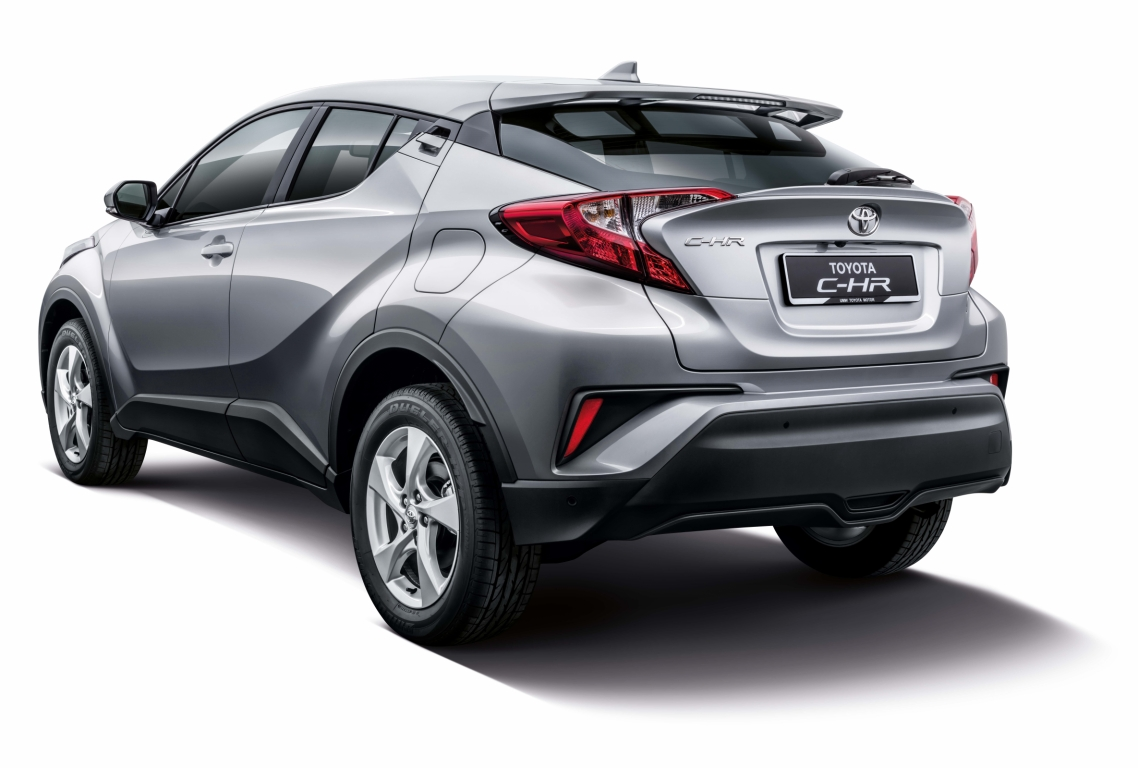 motoring-malaysia: toyota c-hr will be making rounds at various