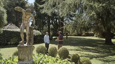 Jardín del Museo Evaristo Valle en Asturias, próximo destino de Jardines con Historia