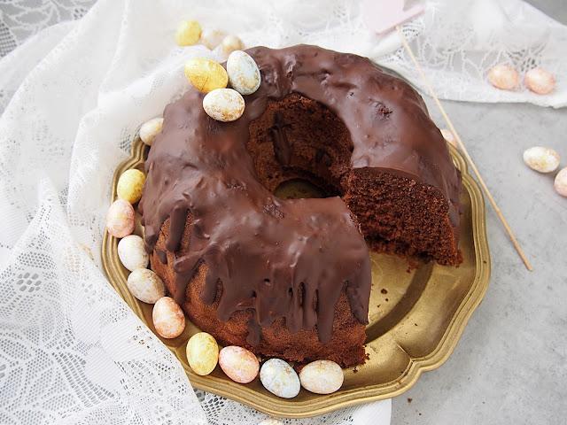 Pyszna babka czekoladowa