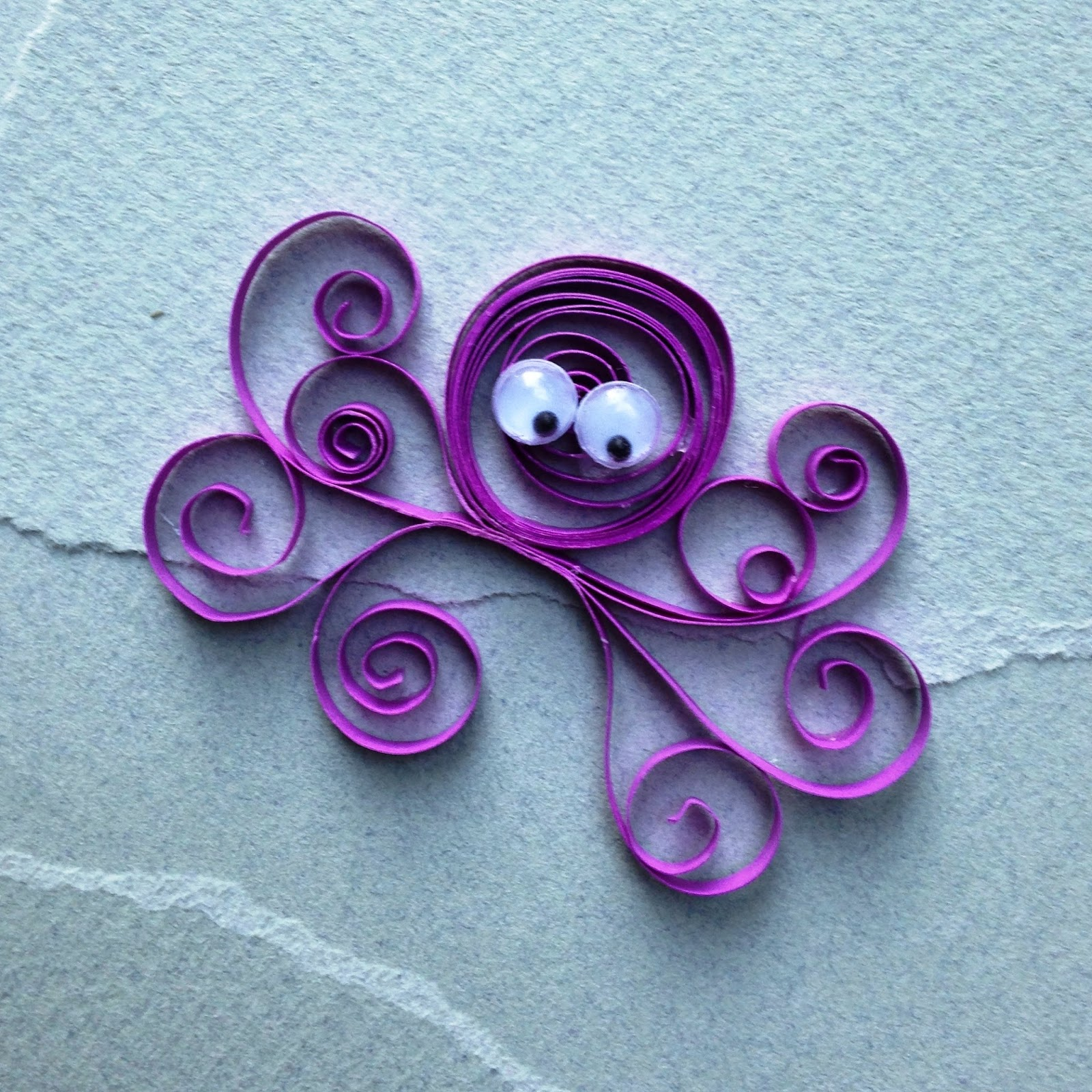 Easy quilling for kids arts and crafts project ideas for Quilling paper art
