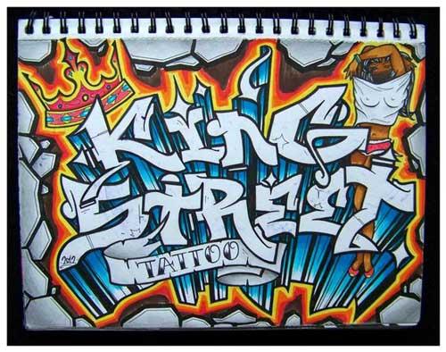 Gambar Tulisan Graffiti Di Kertas The Expert