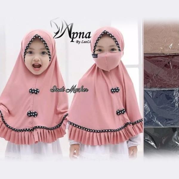 Jilbab Anak Apna FA0014 (Bonus Masker)