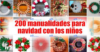 200 Manualidades Para Navidad Con Los Ninos Video Material Educativo - Videos-de-manualidades-para-navidad