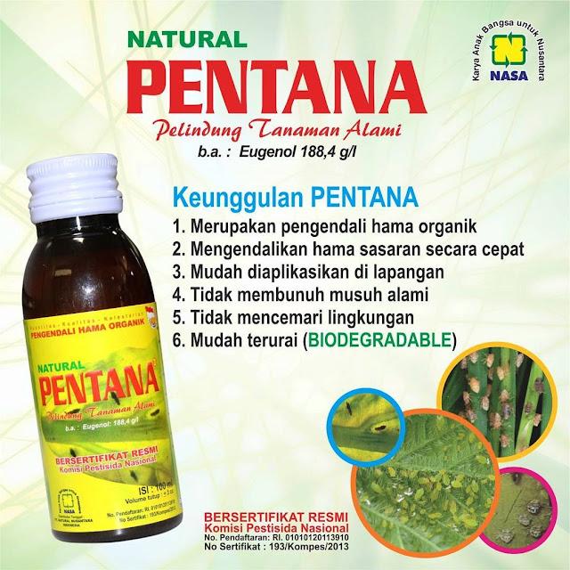 Pestisida Organik Ramah Lingungan Natural Pentana