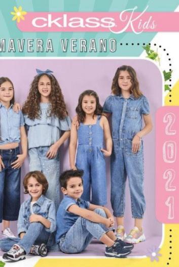 Catalogo Cklass 2021 calzado y ropa  niños Primavera Verano 2021