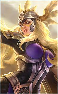 Freya Valkyrie Heroes Fighter of Skins V3