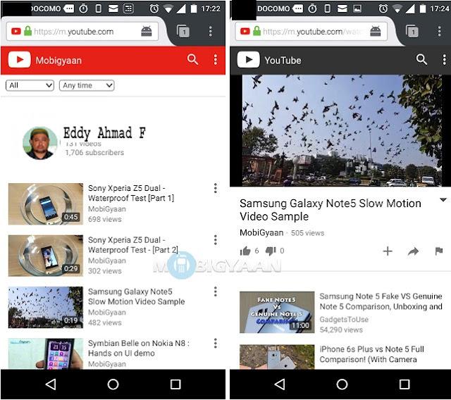 Cara Memutar Youtube di Latar Belakang Oppo 3