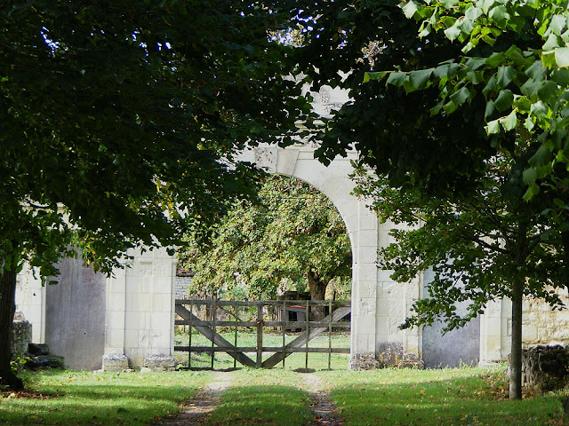 Grand gateway to Domaine de la Groie, Vienne, France. Photo by Loire Valley Time Travel.