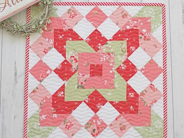 Phoebe Mini Quilt PDF Pattern