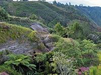 Bukit milik keturunan marga Simatupang yang berada di Huta Lumban Sitabunan