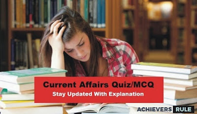 Daily Current Affairs MCQ - 28th & 29th September 2017