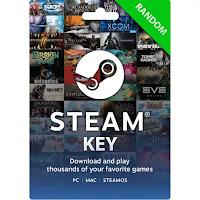 Tarjeta de juego Steam al azar , muy baratas.