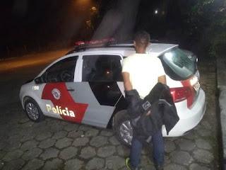 POLÍCIA MILITAR PRENDE DETENTO EM SAÍDA TEMPORÁRIA DE DIA DOS PAIS APÓS ROUBO DE VEÍCULO EM MIRACATU